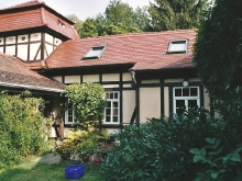 Ferienhaus / Ferienwohnung und Garten in Dresden am Elberadweg